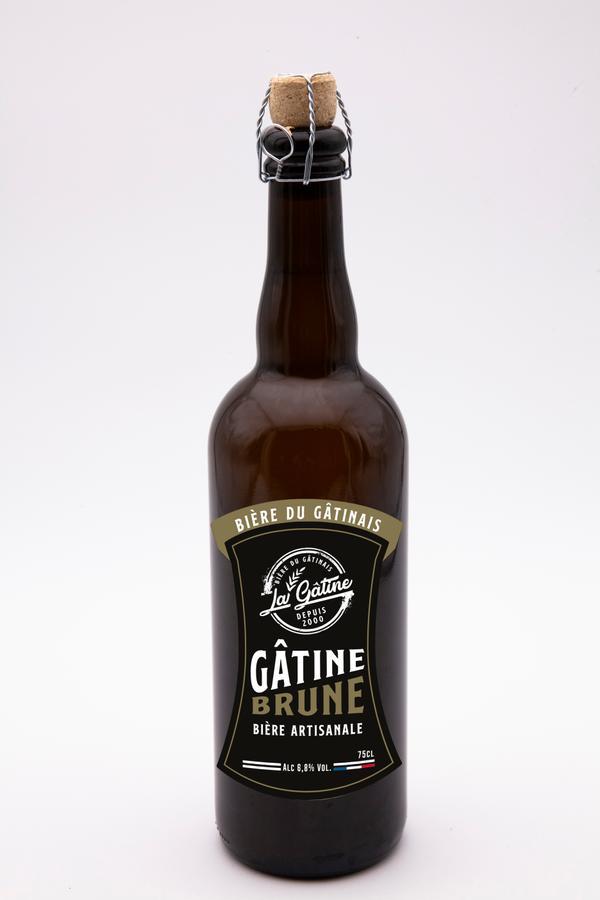Bière La Gâtine Brune 75 cl
