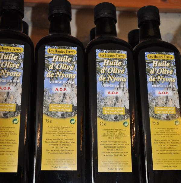 HUILE D'OLIVE AOP NYONS
