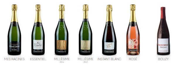 Champagnes Grand Cru Alfred Tritant