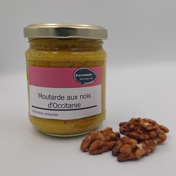 Moutarde aux noix d'occitanie