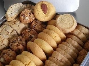 Assortiment de biscuits BIO, petite boite garnie