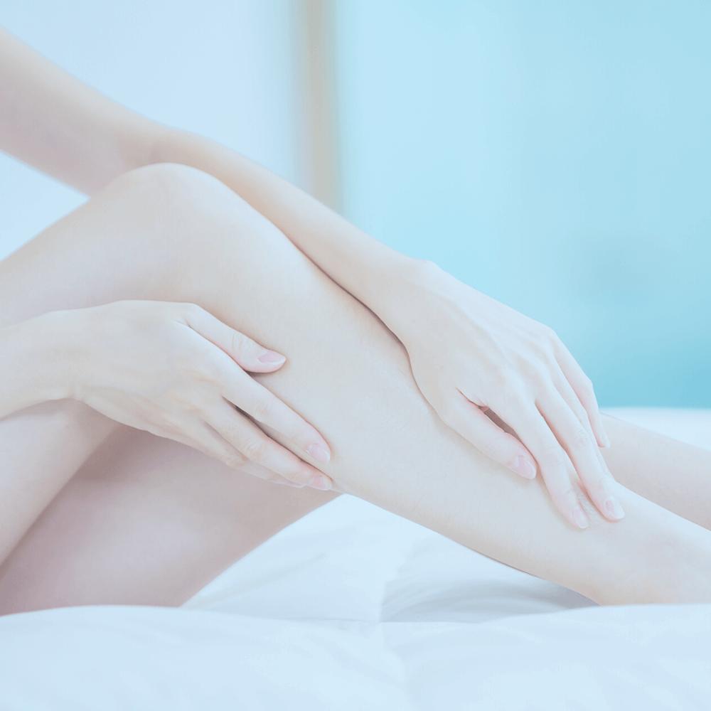 Yarım Bacak İğneli Epilasyon