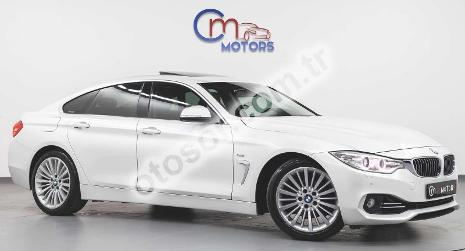BMW 4 Serisi Gran Coupe 418i Luxury Line 136HP