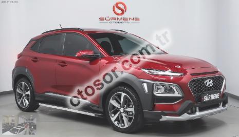 Hyundai Kona 1.6 Crdi Elite Smart Kirmizi Srf Dct 136HP