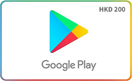香港Google Play Gift Card (HKD200)