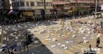 Des transporteurs tels que des sacs à dos, des barres de fer et des barres métalliques ont plaidé coupables d'avoir donné des fournitures aux manifestants et ont été condamnés à des services sociaux de 80 heures.