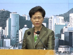 'Immoral' to mourn police attacker: Carrie Lam