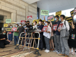 Pan-dems in court over Legco 'poison attacks'