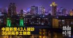 中國新增43人確診 36宗屬本土個案