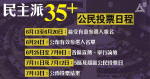 民主派7月11、12日公民投票初選 戴耀廷料DQ風險非常大 各團隊正籌劃Plan B