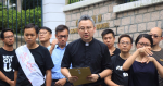 The Rev. Wang Shaoyong Yang Jianqiang, pastor who launched the Gospel Declaration, which was denounced by the Grand Duke of China as trying to promote division, has left Hong Kong.