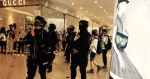 涉 7.1 時代廣場內投擲金屬柱 35 歲女子被控企圖傷 6 警 獲保釋候訊