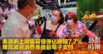 本港網上銷售貨值僅佔總額7.7% 陳茂波冀消費券推動電子支付