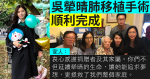 Wu Yuqing's family still in critical condition after completing lung replacement surgery: Thank the donor for his selfless dedication