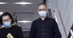 逮捕保釈後、Ping An D100ネットワーク局の司会者ジェスが「別れ前」を発表