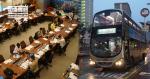 Während des Ausbruchs stellte der Sha Tin District Council, der die Busverkehrsstatistik erstellt, die Unzulässigkeit gegen Schichtkürzungen in Frage.