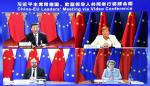 China-EU-Gipfel Hongkong Xinjiang Frage Xi Jinping: Hongkong-bezogene Fragen schützen im Wesentlichen die nationale Souveränität.
