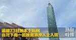 連續73日無本土病例 台灣下周一起放寬港澳人士入境