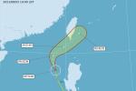 「彩雲」颱風海警發布 還好沒趕跑梅雨鋒面