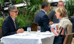 歷史性午餐會:美駐聯大使與我駐紐約處長見面,允推動台灣重返聯合國