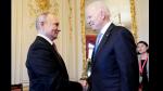 美俄峯會|美俄總統握手合照 拜登稱「當面見較好」 普京冀會談有成效