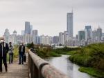 Erschütternder Wolkenkratzer verbreitet Panik in der Innenstadt von Shenzhen