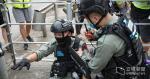 7.1 傷警案兩名 17 及 19 歲學生被捕 警指分別為被警制服及阻撓警員男子