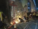 Hundreds pay tribute to teenager Chan Yin-lam
