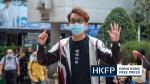 Sechs Hongkonger Demokraten wegen verbotener Demonstration zum Nationalfeiertag 2019 in Untersuchungshaft