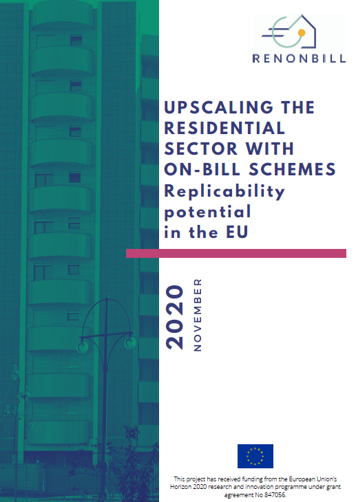 New report by RenOnBill gives ten business model frameworks to implement on-bill schemes (OBS) in the EU