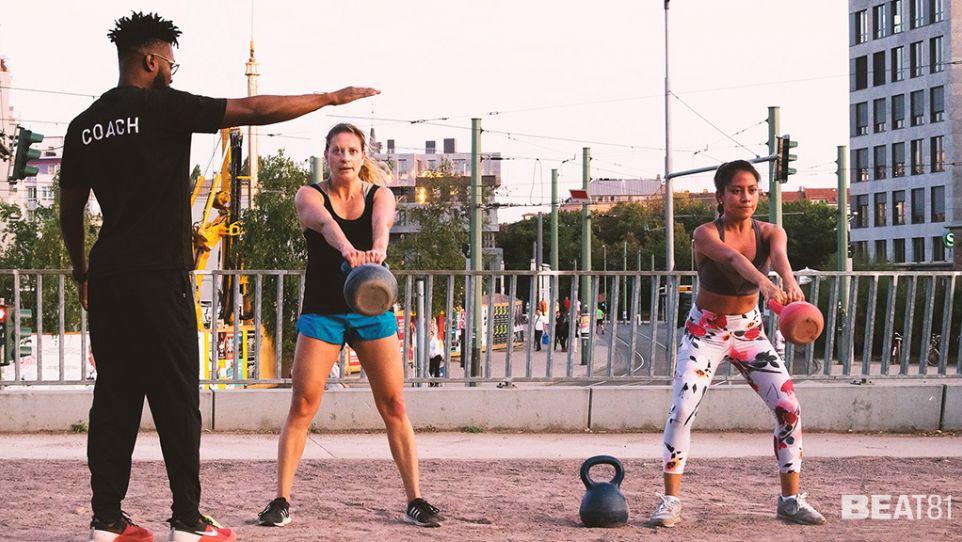 BEAT81 - Lietzensee Outdoor Workout