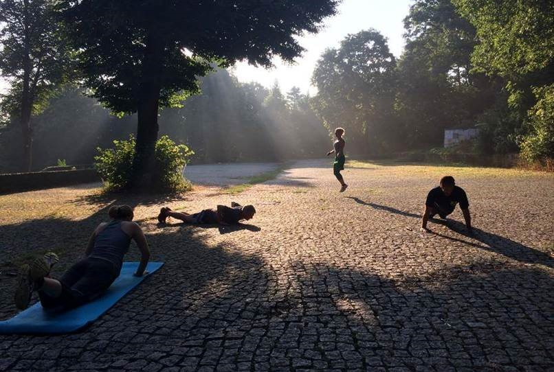 Athletik Training Berlin - Hasenheide
