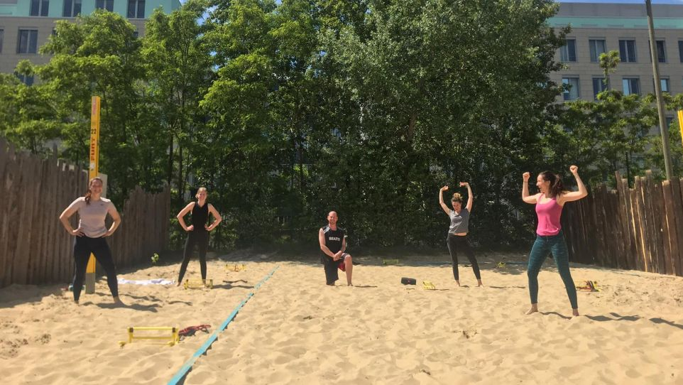 BEAT81 - Beach Mitte Outdoor Workout