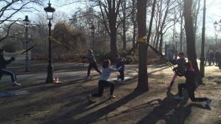Athletik Training Berlin - Tiergarten