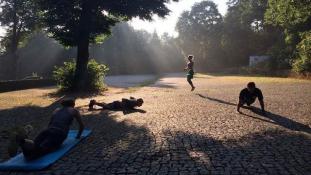 Athletik Training Berlin - Humboldthain