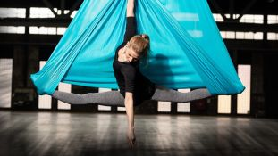 Aerial Yoga & More @ Juggling Center