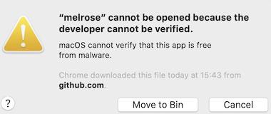 lib not verified