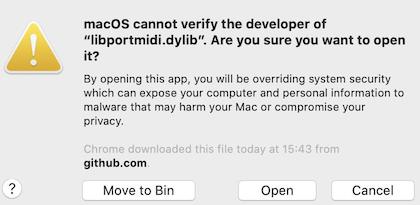 app not verified