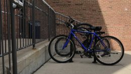 Bikes at rack
