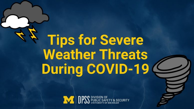 Tips for Severe Weather Threats During COVID-19