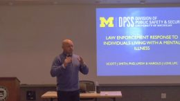Law enforcement response to individuals living with a mental illness training presentation