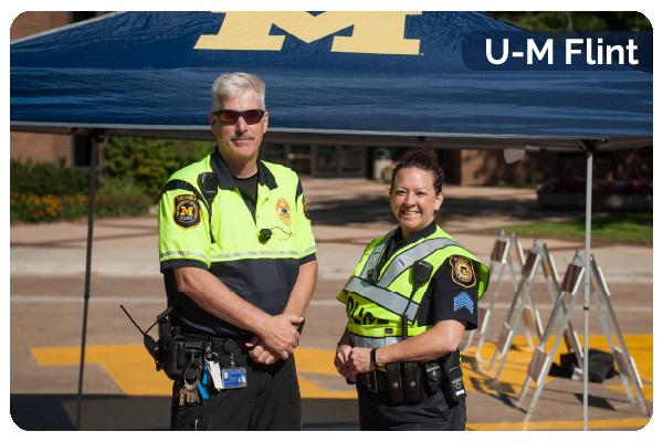 U-M Flint Department of Public Safety