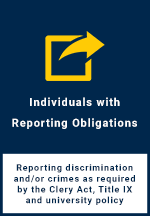 Individuals with Reporting Obligations Report Form Button