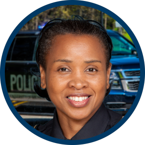 Deputy Chief of Police Crystal James