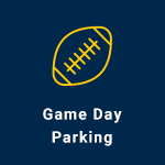 game day parking icon