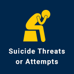 Suicide Threats or Attempts