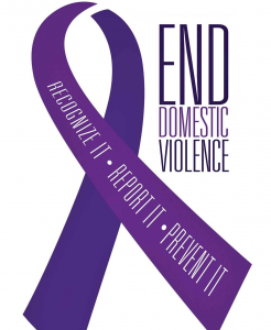 End Domestic Violence Awareness Ribbon