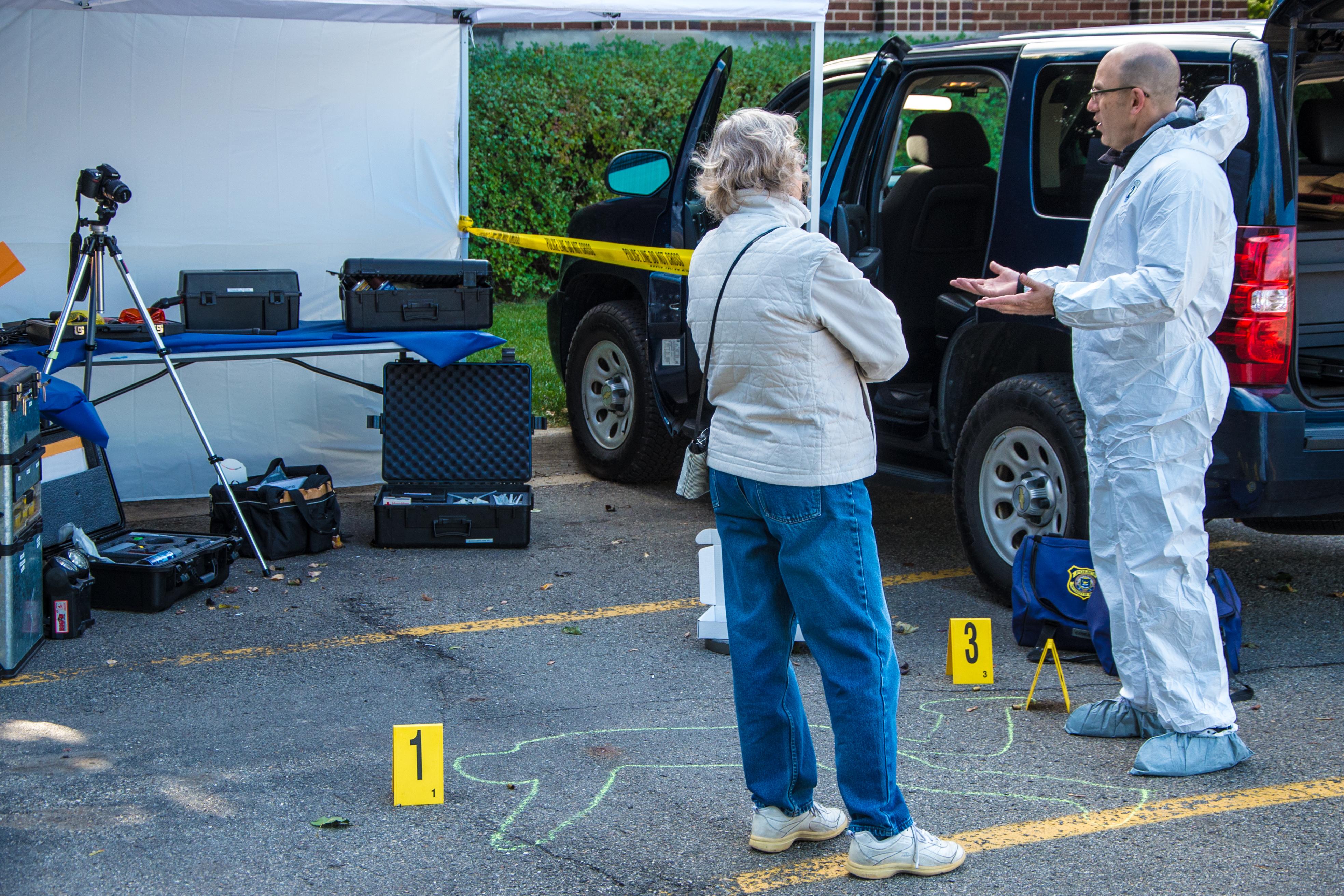 Evidence Tech Officer Mike Mathews