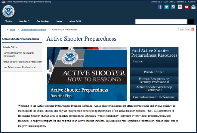 Active Shooter Preparedness Thumbnail