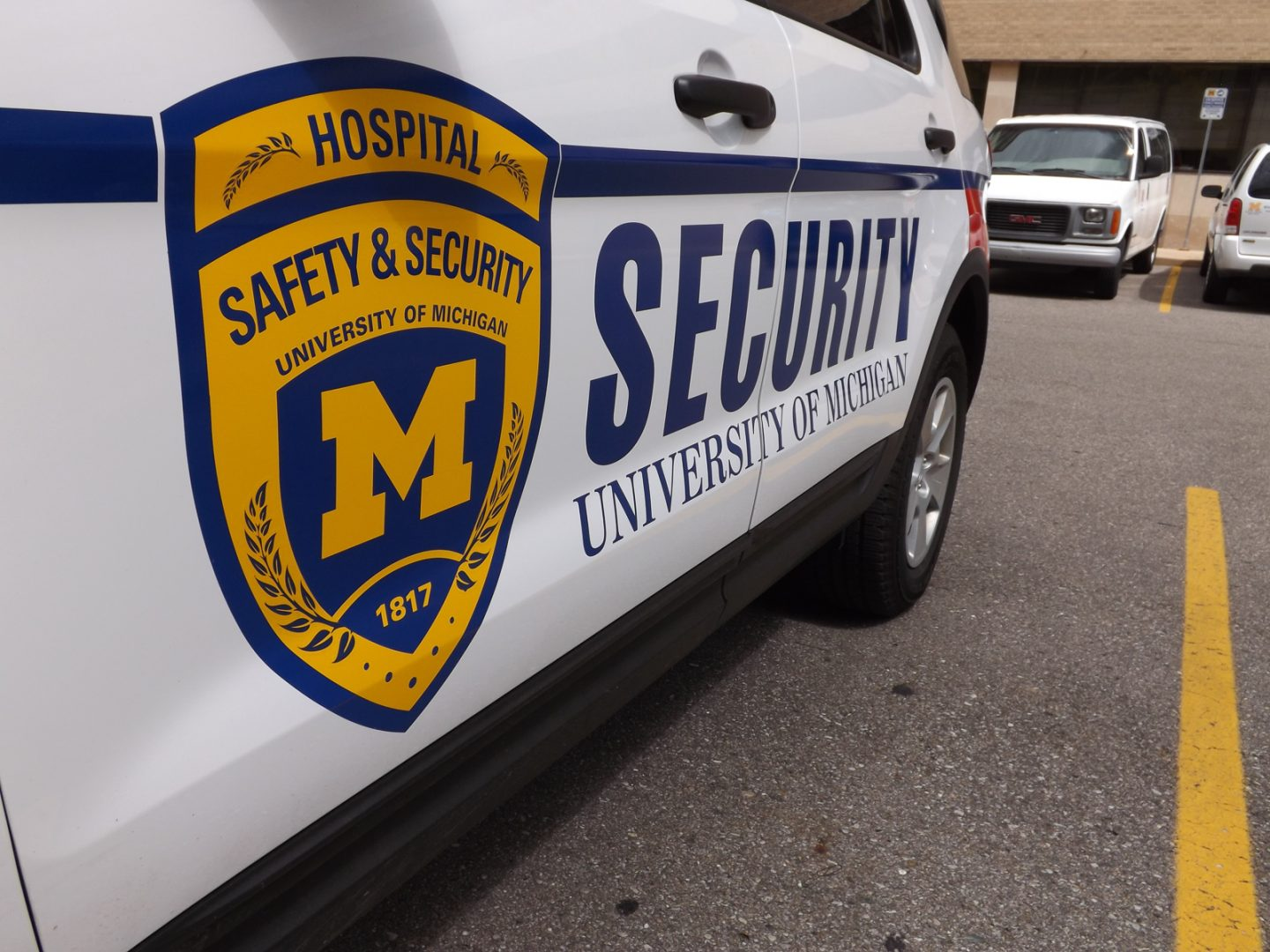 Michigan Medicine Security patrol vehicle decals
